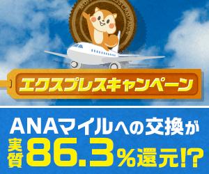 【ANAマイラー必見】エクスプレスキャンペーン