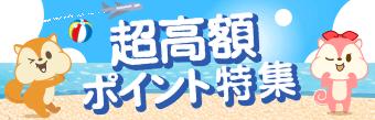 【期間限定】超高額ポイント特集