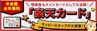 楽天カード【最大12,500円相当】