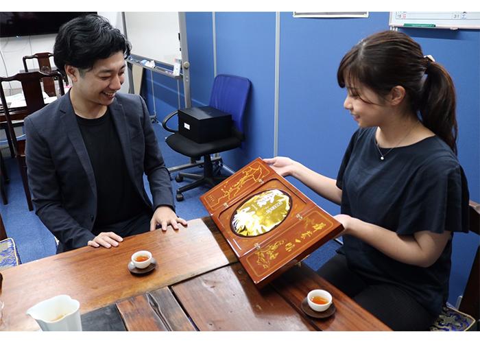 西田さんとモッピースタッフ