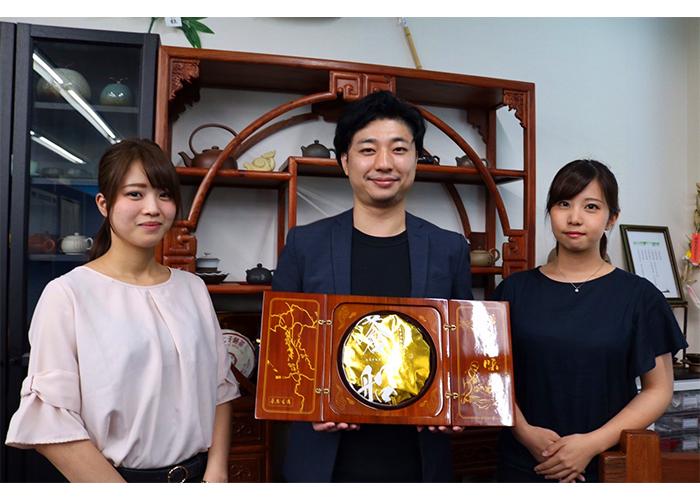 梅田さんと西田さんとモッピースタッフ