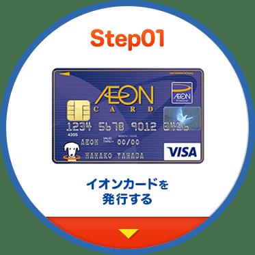 Step01 イオンカードを発行する