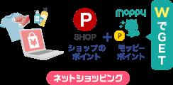 ネットショッピング利用のイラスト