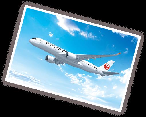 JAL飛行機機影